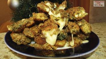 Горячая закуска из сыра в кляре (Сырные палочки)