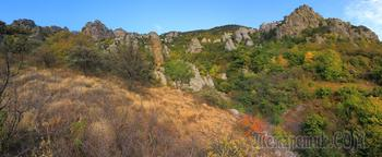 Крым. Осень на Южном Демерджи - Долина Привидений