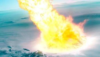 В Антарктиде обнаружены следы древнего метеорита