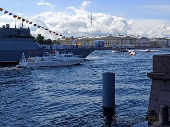 Военно-морской парад в Санкт-Петербурге 2020