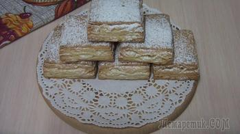 Печенье-слойки на кефире. Вкусные, слоистые и ароматные!