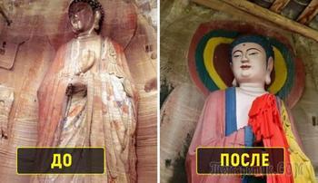 10 неудачных реставраций, которые стали настоящим посмешищем