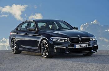 BMW M550i xDrive – топ версия седана BMW 5-Series (G30)