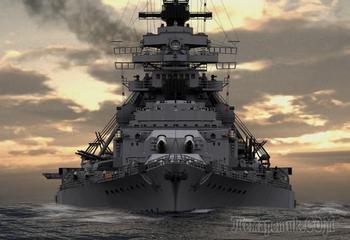 "Легендарные корабли: линкор ""Бисмарк"""