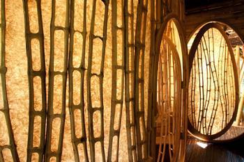 Шедевральные арт-объекты из бамбука