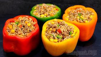 Вкуснее еще не пробовала! Перец по-мексикански – очень вкусный и доступный рецепт!