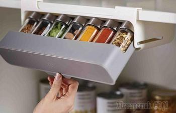 7 простых и доступных идей, как найти место хранения на маленькой кухне