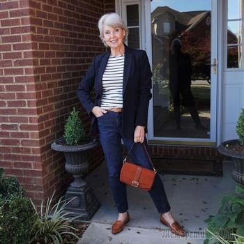 Стильные образы Susan Street: 80+ способов выглядеть прекрасно в 60 лет