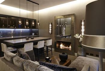 Роскошный интерьер квартиры в Лондоне