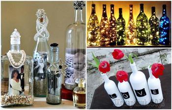 Крутые и оригинальные вещи, которые можно сделать из бутылок своими руками