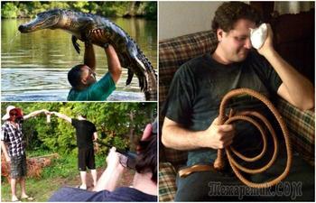 Фотографии, доказывающие, что жизнь мужчин весела, но значительно короче, чем у женщин