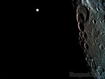 Снимки: Израильский аппарат Beresheet запечатлел обратную сторону Луны