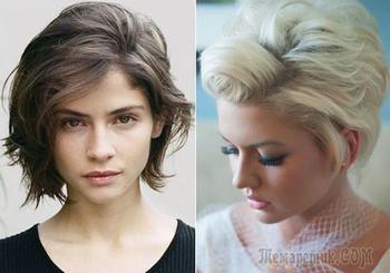 Укладываем короткие волосы в домашних условиях