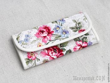 Мастер-класс: шьем текстильный кошелек