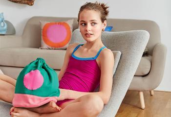 Как сшить сумку-мешок для девочки