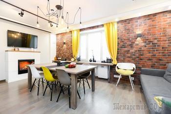 Квартира 96 м² по собственному проекту