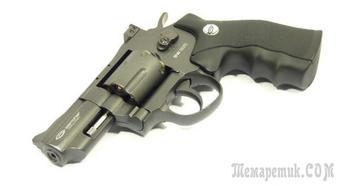 Пневматический пистолет Gletcher SW R25 — газобаллонный «Smith & Wesson»