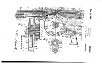 Проект самозарядной винтовки Л.Н. Номара