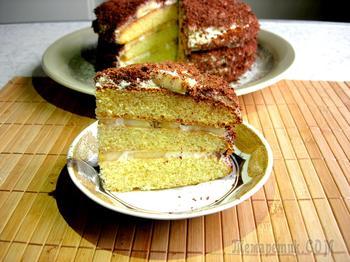 Торт «Банановый каприз»