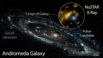 Загадка яркого рентгеновского источника в галактике Андромеда разрешена?