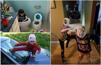 16 снимков, которые доказывают, что жизнь с детьми - сплошное приключение