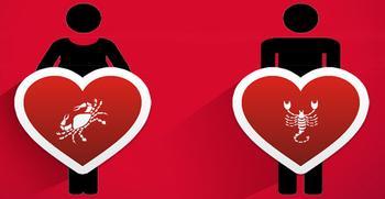 Рак и Скорпион: совместимость в любовных отношениях