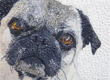 Невероятно реалистичные портреты животных из бисера от Сары Джейн Коннорс