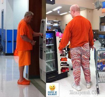 25 странных людей, которых смогли сфотографировать в американских супермаркетах
