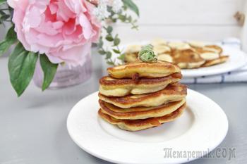 Легкий рецепт завтрака за 5 минут! Банановые оладьи