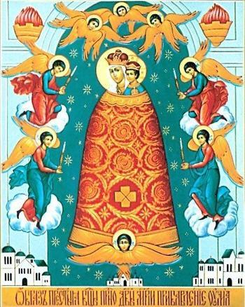 Икона Богородицы «Прибавление ума»
