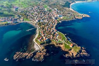 Болгарское побережье Черного моря 60. Царево - самый бюджетный черноморский курорт