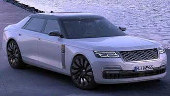 Седан Range Rover: сенсация от британской компании Land Rover
