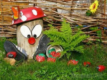 Новинки поделок для сада — стильные и оригинальные украшения от дизайнеров