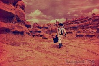 Безумные теории заговора и предположений, связанных с Марсом