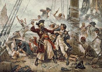 Пираты в живописи