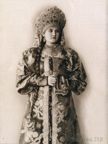 Красота и разнообразие русского национального наряда
