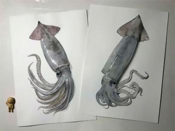 Японский художник создаёт потрясающе реалистичные рисунки с помощью карандаша и ручки