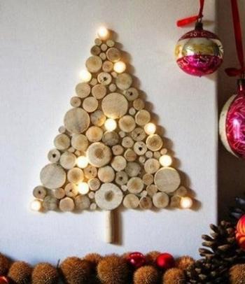 Идеи альтернативных новогодних ёлочек