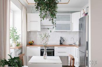 Крошка-квартира архитектора на 34,5 метрах