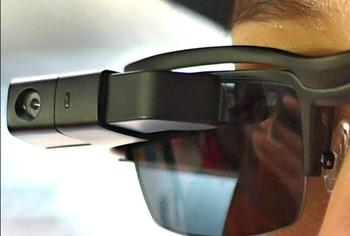 Полиция получит очки с функцией распознавания лиц