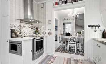 Светлый шведский дом 100 м² для большой семьи