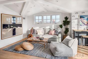 Современный дом со спокойным интерьером в Калифорнии