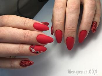 Королевские идеи маникюра в темно-красных оттенках для каждой превосходной леди