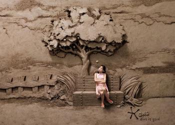 Потрясающие песочные скульптуры сингапурского художника JOOheng Tan