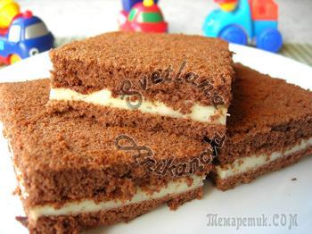 Любимое детское пирожное Kinder Milk своими руками