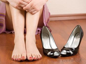 Как носить обувь, которая натирает ноги