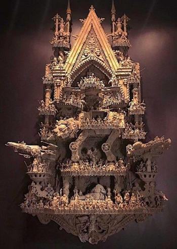 """Нереальная скульптура от поклонника """"Звездных войн"""""""
