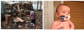 Мужичок с ноготок: маленький Райан и его взрослые занятия