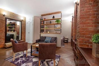 Создаем современный интерьер в старом доме: реальный пример