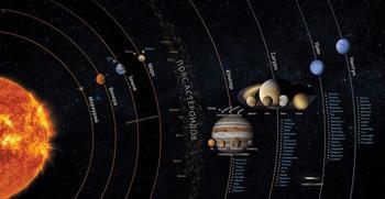 Погода на разных планетах Солнечной системы